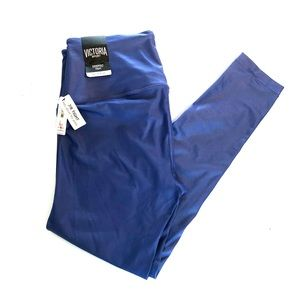 VICTORIA'S SECRET Blue 7/8 KNOCKOUT LEGGINGS M NWT